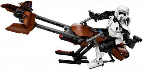 LEGO Star Wars Průzkumný voják a speederová motorka 75532