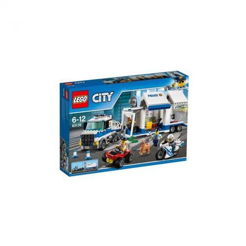 LEGO CITY POLICE Mobilní velitelské centrum 60139
