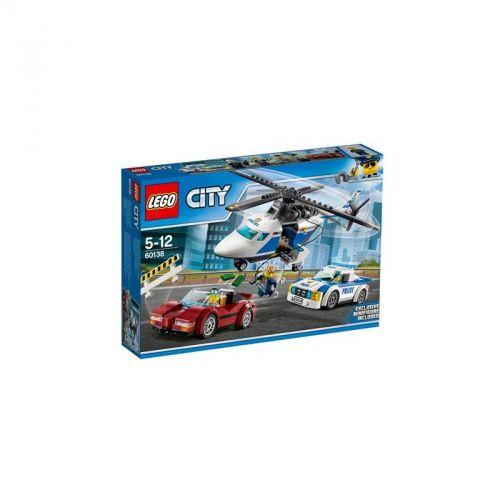 LEGO CITY POLICE Honička ve vysoké rychlosti 60138 cena od 595 Kč