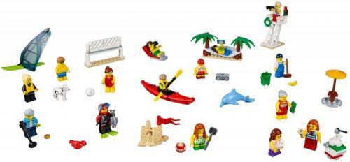 LEGO City Sada postav Zábava na pláži 60153 cena od 656 Kč