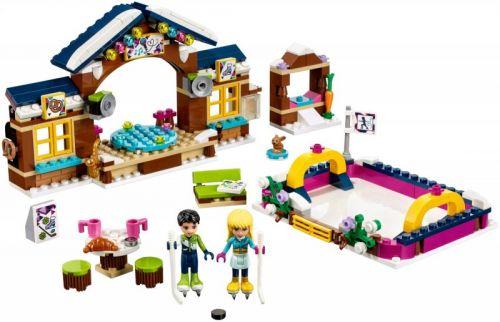 LEGO Friends Kluziště v zimním středisku 41322