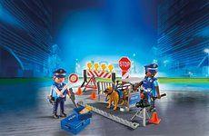 Playmobil Policejní zátaras 6924
