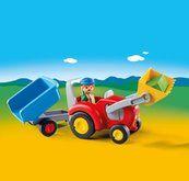Playmobil Traktor s přívěsem 6964