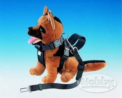 Nobby Postroj s bezpečnostním pásem 50 - 80 cm