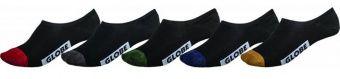 Globe Dip Invisible Sock 5Pack ponožky