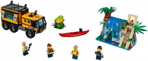 LEGO City Mobilní laboratoř do džungle 60160