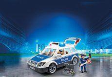 Playmobil policejní auto s majákem 6920
