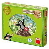 Dino Krtek a přátelé 12 kostek cena od 158 Kč