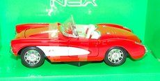 Lamps Welly Chevrolet Corvette 1957 1:24