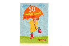 Mindok 50 skvělých nápadů pro deštivé dny cena od 89 Kč