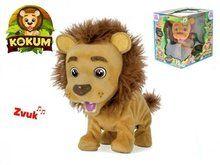 Mikro hračky Kokum lvíček plyšový 26 cm