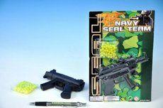 Mikro Pistole na kuličky + kuličky na kartě
