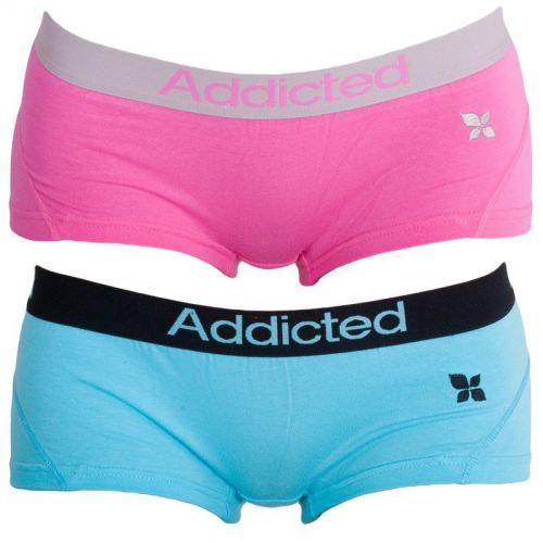 Addicted Růžová Modrá kalhotky