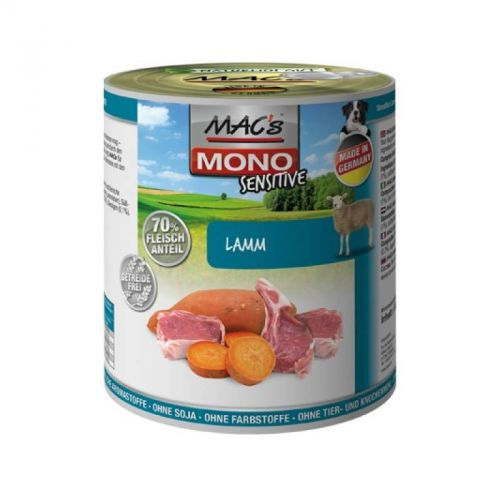 MACs Dog MONO Sensitive jehně 800 g