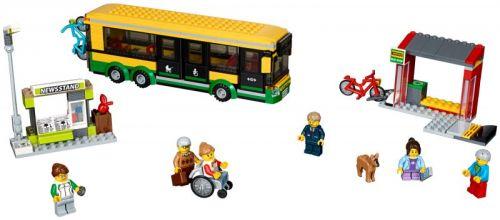 LEGO City Zastávka autobusu 60154