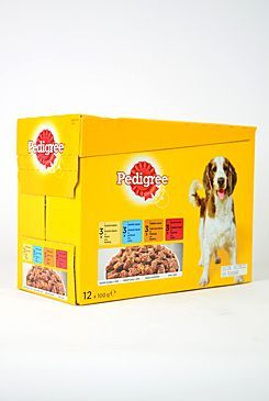 MARS Pedigree kapsa 12 pack kuře/jehně/drůbež/hovězí 100 g