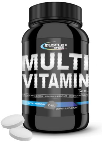 MUSCLE SPORT Multivitamín 90 tablet