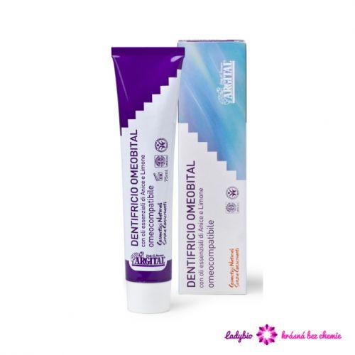 Argital Pasta na zuby pro homeopatické léčení 75 ml