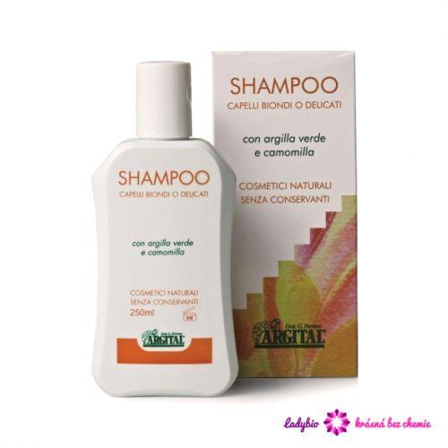 Argital Rozjasňující šampon pro blondýnky s heřmánkem 250 ml