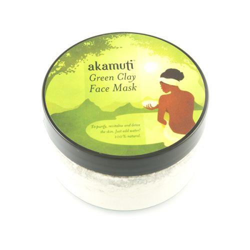 Akamuti Maska na pleť Zelený jíl