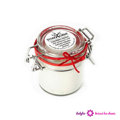 Soaphoria Peeling s růžovým polynéským pískem 125 ml