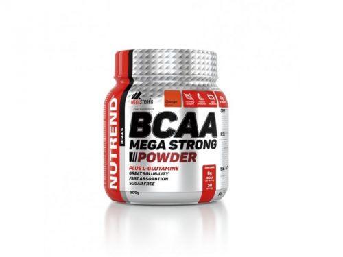 Nutrend BCAA Mega Strong Powder pomeranč 300 g