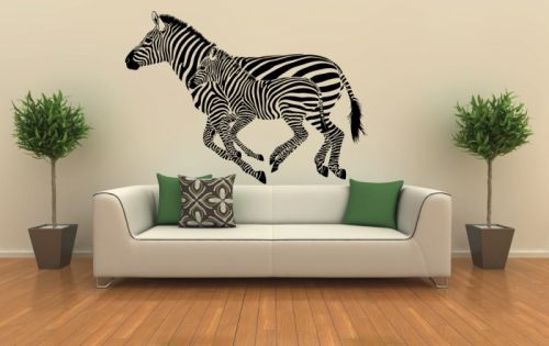 Xdecor Běžící zebry