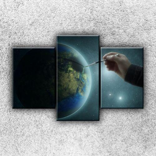 Xdecor Zeměkoule s tužkou 3