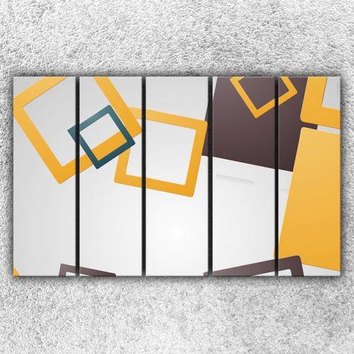 Xdecor Čtvercová abstrakce