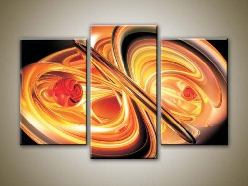 Xdecor Oranžová abstrakce