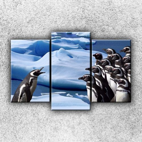 Xdecor Skupina tučňáků 2