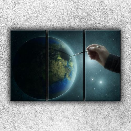 Xdecor Zeměkoule s tužkou 4