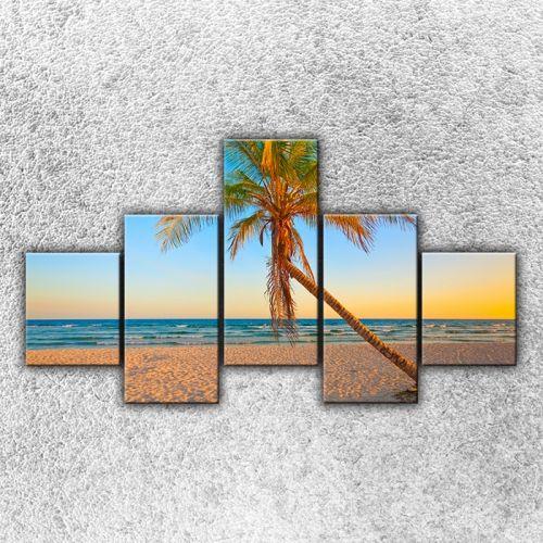 Xdecor Písečná pláž s palmou 2
