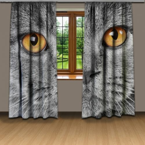 Xdecor Závěsy kočičí pohled