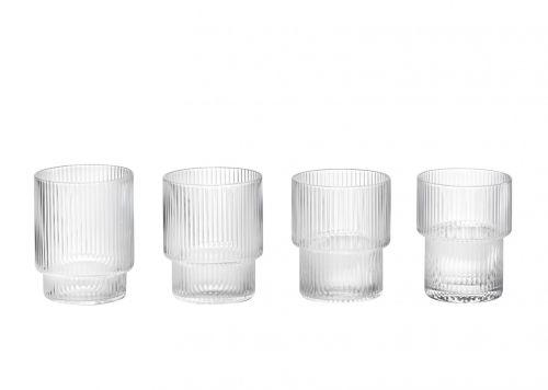 ferm LIVING Ripple skleničky