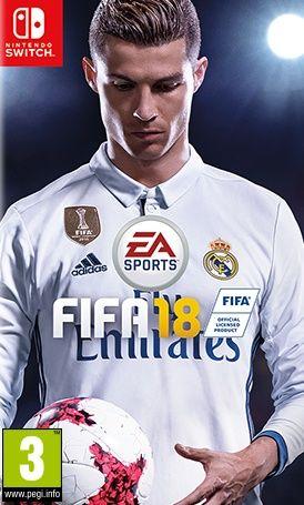 FIFA 18 pro Nintendo Switch cena od 1449 Kč