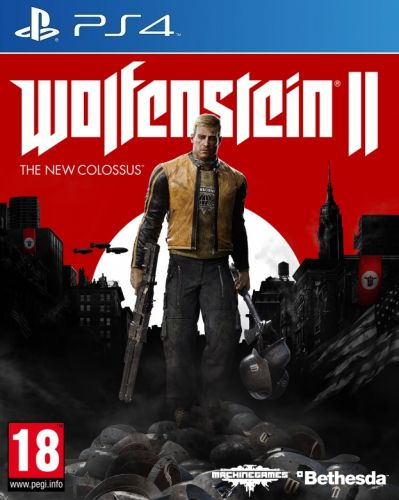XXL obrazek Wolfenstein 2: The New Colossus pro PS4