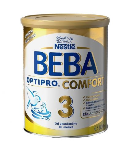 NESTLÉ Beba OPTIPRO Comfort 3 800 g cena od 309 Kč