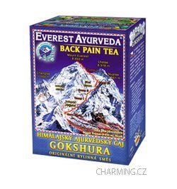 Everest Ayurveda GOKSHURA himalájský bylinný čaj ulevující od bolesti zad a páteře 100 g