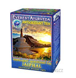 Everest Ayurveda JAIPHAL himalájský bylinný antioxidační čaj pro dobrou kondici a omlazení pleti a organizmu 100 g