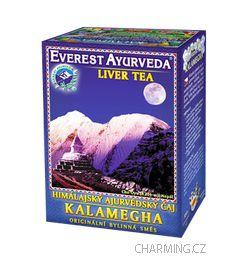 Everest Ayurveda KALAMEGHA himalájský bylinný regenerační čaj obnovující zdravou funkci jater 100 g