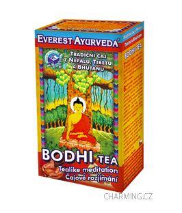 Everest Ayurveda BODHI himalájský bylinný čaj snižující podrážděnost a emocionální rozladění 100 g cena od 106 Kč