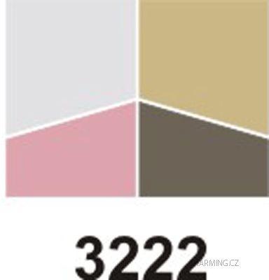 CORÉANA Entia luxusní oční stíny 4 kombinace č.3 měnící odstín z různých úhlů pohledu 7 g
