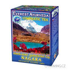 Everest Ayurveda NAGARA himalájský bylinný čaj k regeneraci lymfatického systému mízních uzlin a cév 100 g
