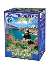 Everest Ayurveda DALCHINI himalájský bylinný čaj pro uvolnění horních cest dýchacích při běžné i alergické rýmě 100 g