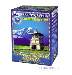 Everest Ayurveda ABHAYA himalájský bylinný čaj proti arterioskleróze, kornatění cév a tepen, křečovým žilám 100 g