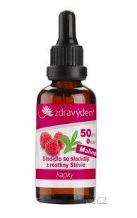 Zdravý den Stevia nekalorické roslinné sladidlo malina 50 ml cena od 169 Kč