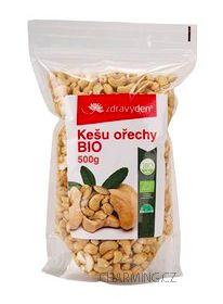 Zdravý den Kešu ořechy BIO 500 g cena od 289 Kč