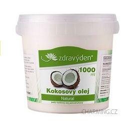 Zdravý den Kokosový olej 100% panenský 1000 ml cena od 279 Kč