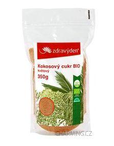 Zdravý den Kokosový cukr 100% BIO nerafinovaný květový 350 g cena od 118 Kč